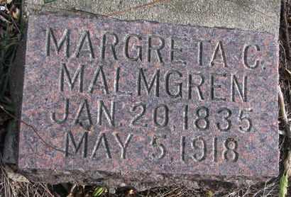 MALMGREN, MARGRETA C. - Union County, South Dakota | MARGRETA C. MALMGREN - South Dakota Gravestone Photos
