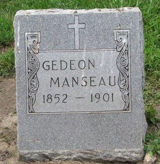 MANSEAU, GEDEON - Union County, South Dakota   GEDEON MANSEAU - South Dakota Gravestone Photos