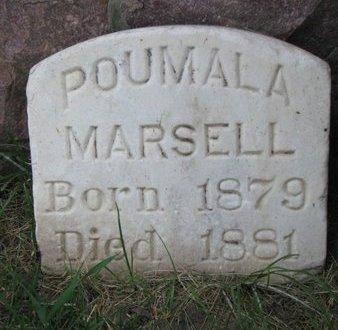 MARSELL, POUMALA - Union County, South Dakota | POUMALA MARSELL - South Dakota Gravestone Photos