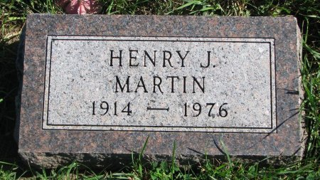MARTIN, HENRY J. - Union County, South Dakota | HENRY J. MARTIN - South Dakota Gravestone Photos