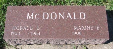 MCDONALD, MAXINE E. - Union County, South Dakota | MAXINE E. MCDONALD - South Dakota Gravestone Photos