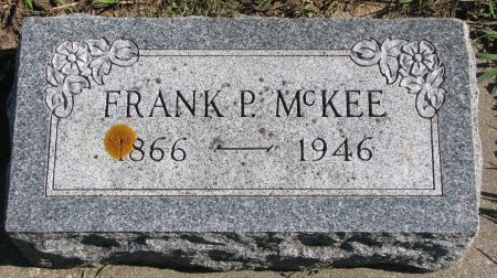 MCKEE, FRANK P. - Union County, South Dakota | FRANK P. MCKEE - South Dakota Gravestone Photos