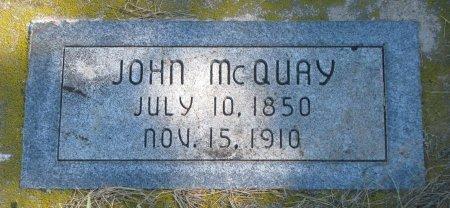 MCQUAY, JOHN - Union County, South Dakota   JOHN MCQUAY - South Dakota Gravestone Photos