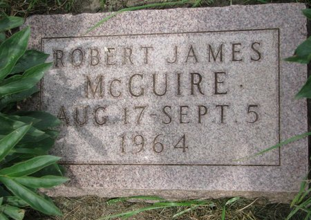 MCGUIRE, ROBERT JAMES - Union County, South Dakota   ROBERT JAMES MCGUIRE - South Dakota Gravestone Photos