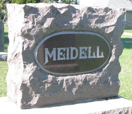 MEIDELL, *FAMILY MONUMENT - Union County, South Dakota | *FAMILY MONUMENT MEIDELL - South Dakota Gravestone Photos
