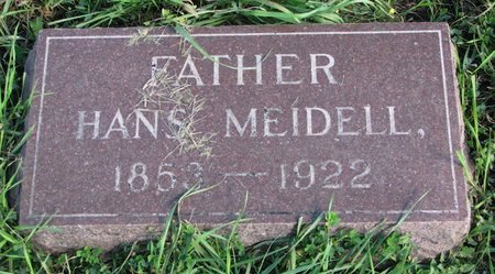 MEIDELL, HANS - Union County, South Dakota   HANS MEIDELL - South Dakota Gravestone Photos