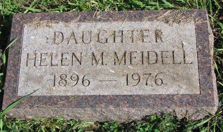 MEIDELL, HELEN M. - Union County, South Dakota | HELEN M. MEIDELL - South Dakota Gravestone Photos