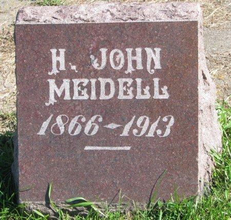 MEIDELL, H. JOHN - Union County, South Dakota | H. JOHN MEIDELL - South Dakota Gravestone Photos