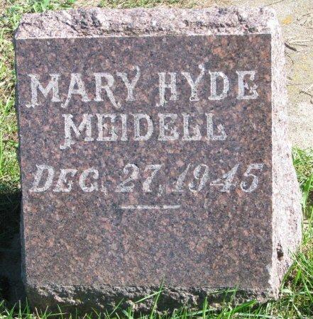 MEIDELL, MARY - Union County, South Dakota   MARY MEIDELL - South Dakota Gravestone Photos