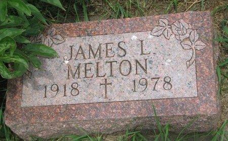 MELTON, JAMES L. - Union County, South Dakota | JAMES L. MELTON - South Dakota Gravestone Photos