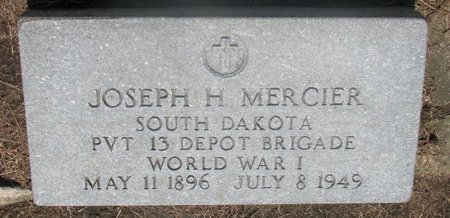 "MERCIER, JOSEPH HERMAN ""PERCY"" (WORLD WAR I) - Union County, South Dakota 