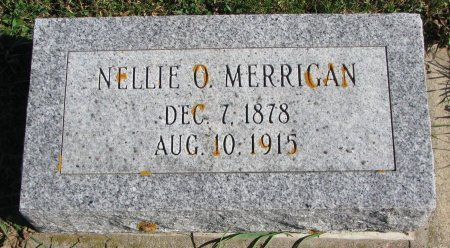 STEPHEN MERRIGAN, NELLIE O. - Union County, South Dakota | NELLIE O. STEPHEN MERRIGAN - South Dakota Gravestone Photos