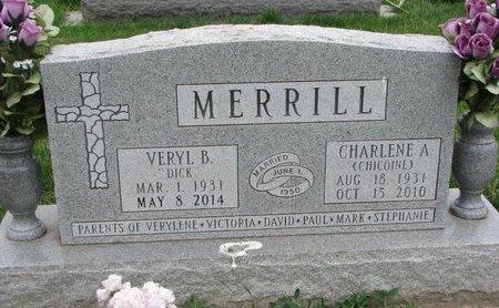 "MERRILL, VERYL BENTON ""DICK"" - Union County, South Dakota | VERYL BENTON ""DICK"" MERRILL - South Dakota Gravestone Photos"