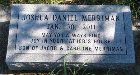 MERRIMAN, JOSHUA DANIEL - Union County, South Dakota | JOSHUA DANIEL MERRIMAN - South Dakota Gravestone Photos