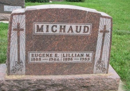 MICHAUD, LILLIAN M. - Union County, South Dakota | LILLIAN M. MICHAUD - South Dakota Gravestone Photos