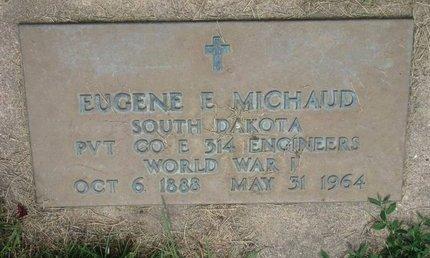 MICHAUD, EUGENE E. (WORLD WAR I) - Union County, South Dakota   EUGENE E. (WORLD WAR I) MICHAUD - South Dakota Gravestone Photos