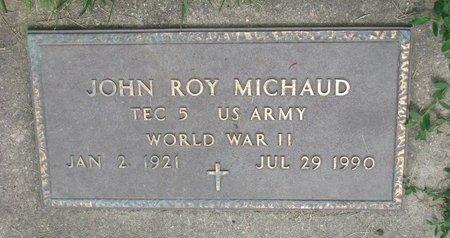 MICHAUD, JOHN ROY (WORLD WAR II) - Union County, South Dakota | JOHN ROY (WORLD WAR II) MICHAUD - South Dakota Gravestone Photos