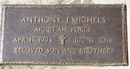 "MICHELS, ANTHONY JAMES ""A.J."" (AIR FORCE) - Union County, South Dakota | ANTHONY JAMES ""A.J."" (AIR FORCE) MICHELS - South Dakota Gravestone Photos"