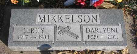 MIKKELSON, DARLYENE BELLE - Union County, South Dakota | DARLYENE BELLE MIKKELSON - South Dakota Gravestone Photos