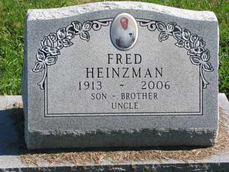 HEINZMAN, FRED OTTO - Union County, South Dakota | FRED OTTO HEINZMAN - South Dakota Gravestone Photos
