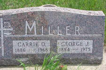MILLER, CARRIE O. - Union County, South Dakota | CARRIE O. MILLER - South Dakota Gravestone Photos