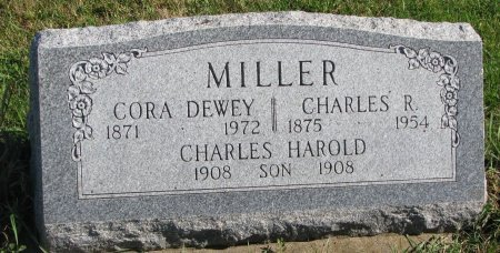 MILLER, CHARLES HOWARD - Union County, South Dakota   CHARLES HOWARD MILLER - South Dakota Gravestone Photos