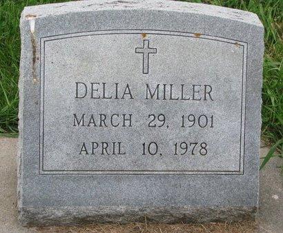 MILLER, DELIA - Union County, South Dakota | DELIA MILLER - South Dakota Gravestone Photos
