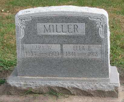 MILLER, ELLA E. - Union County, South Dakota | ELLA E. MILLER - South Dakota Gravestone Photos