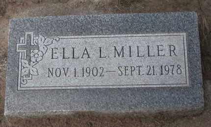 MILLER, ELLA L. - Union County, South Dakota | ELLA L. MILLER - South Dakota Gravestone Photos