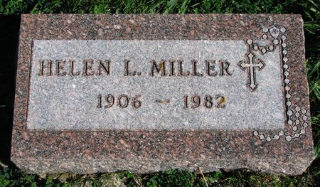 MILLER, HELEN L. - Union County, South Dakota | HELEN L. MILLER - South Dakota Gravestone Photos