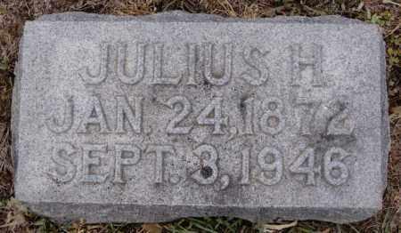 MILLER, JULIUS H - Union County, South Dakota   JULIUS H MILLER - South Dakota Gravestone Photos