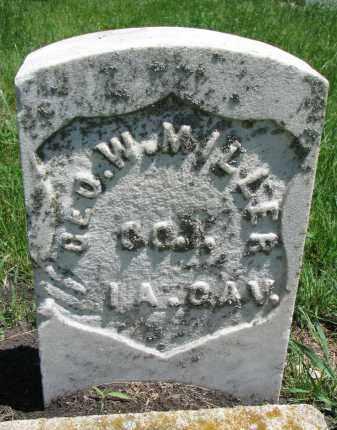 MILLER, LEO W. - Union County, South Dakota | LEO W. MILLER - South Dakota Gravestone Photos