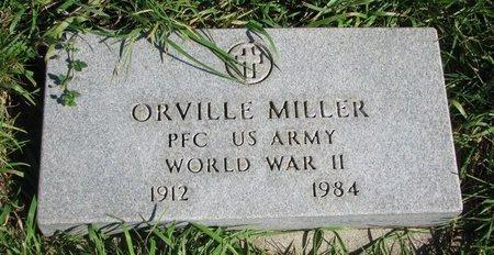 MILLER, ORVILLE (WORLD WAR II) - Union County, South Dakota   ORVILLE (WORLD WAR II) MILLER - South Dakota Gravestone Photos