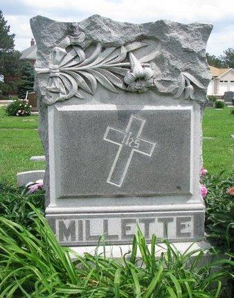 MILLETTE, *FAMILY MONUMENT-AGLAE, ELE, JOSEPH, LOUIS & UBALD - Union County, South Dakota | *FAMILY MONUMENT-AGLAE, ELE, JOSEPH, LOUIS & UBALD MILLETTE - South Dakota Gravestone Photos