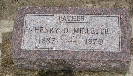 MILLETTE, HENRY O. - Union County, South Dakota | HENRY O. MILLETTE - South Dakota Gravestone Photos