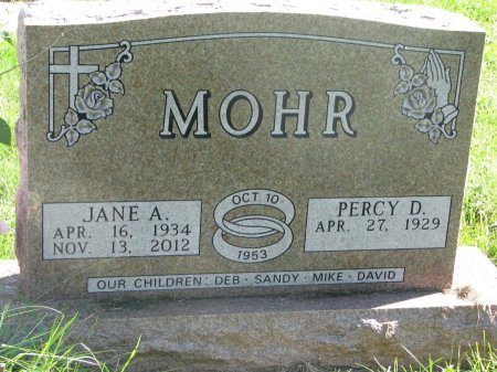 MOHR, PERCY D. - Union County, South Dakota | PERCY D. MOHR - South Dakota Gravestone Photos