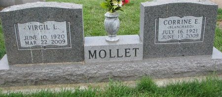 MOLLET, VIRGIL L., SR. - Union County, South Dakota | VIRGIL L., SR. MOLLET - South Dakota Gravestone Photos