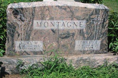 ALLARD MONTAGNE, ANNA M. - Union County, South Dakota | ANNA M. ALLARD MONTAGNE - South Dakota Gravestone Photos