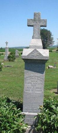 BAINE MONTAGNE, PHILOMEN - Union County, South Dakota | PHILOMEN BAINE MONTAGNE - South Dakota Gravestone Photos