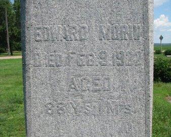 MORIN, EDWARD (CLOSEUP) - Union County, South Dakota   EDWARD (CLOSEUP) MORIN - South Dakota Gravestone Photos
