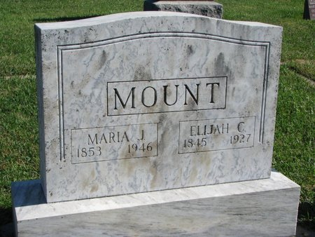 MOUNT, MARIA JENNIE - Union County, South Dakota | MARIA JENNIE MOUNT - South Dakota Gravestone Photos