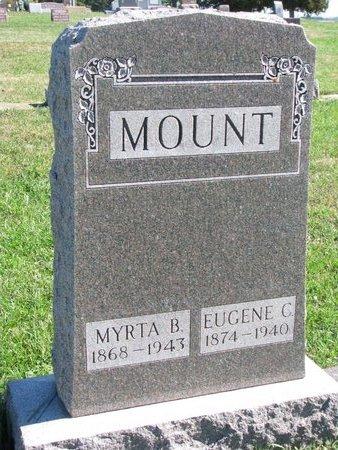 MOUNT, MYRTA BELLE - Union County, South Dakota | MYRTA BELLE MOUNT - South Dakota Gravestone Photos