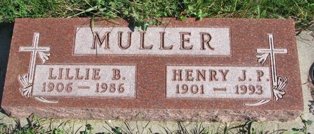 ROGERS MULLER, LILLIE BELLE - Union County, South Dakota | LILLIE BELLE ROGERS MULLER - South Dakota Gravestone Photos