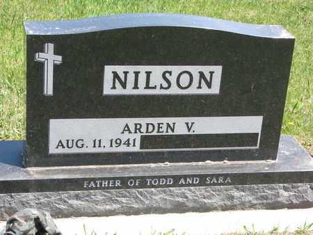NILSON, ARDEN V. - Union County, South Dakota   ARDEN V. NILSON - South Dakota Gravestone Photos