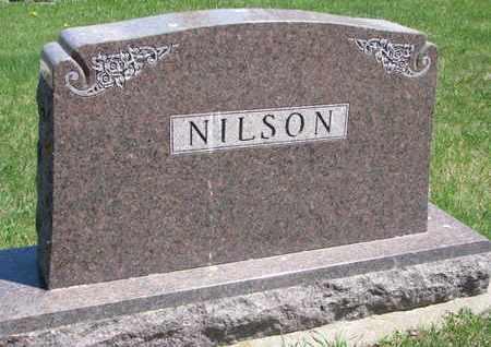 NILSON, *FAMILY MONUMENT - Union County, South Dakota   *FAMILY MONUMENT NILSON - South Dakota Gravestone Photos