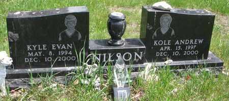 NILSON, KOLE ANDREW - Union County, South Dakota | KOLE ANDREW NILSON - South Dakota Gravestone Photos