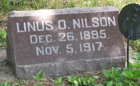 NILSON, LINUS O. (WORLD WAR I) - Union County, South Dakota | LINUS O. (WORLD WAR I) NILSON - South Dakota Gravestone Photos