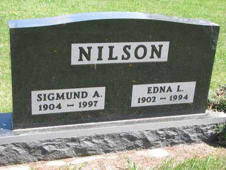NILSON, SIGMUND A. - Union County, South Dakota | SIGMUND A. NILSON - South Dakota Gravestone Photos