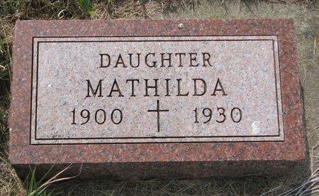 NOLAN, MATHILDA - Union County, South Dakota   MATHILDA NOLAN - South Dakota Gravestone Photos