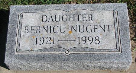 NUGENT, BERNICE - Union County, South Dakota | BERNICE NUGENT - South Dakota Gravestone Photos